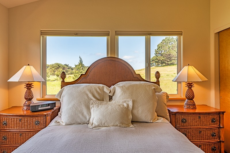 Master Bedroom with Meadow View