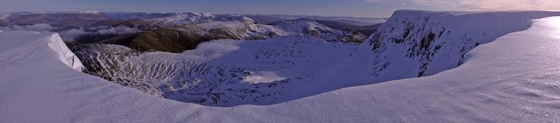 New Range view Eastwards