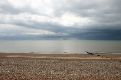 2019 05 11 Storm out to sea at Bexhill