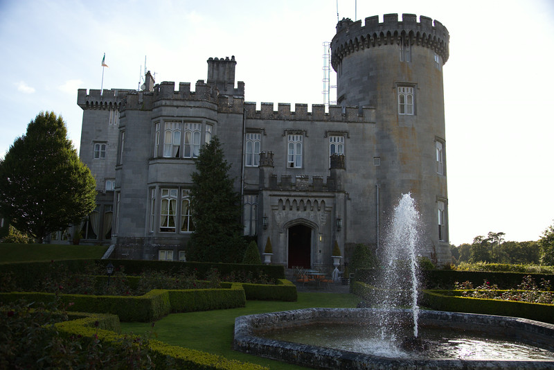 Dromoland Castle....our hotel.