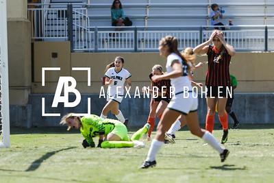 2017 Cal Poly Women's Soccer vs Pacific