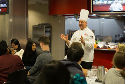 2018 OUAB Instructional Kitchen Demonstration