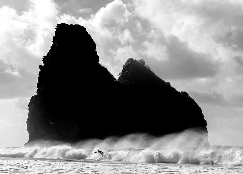 Surf at Cacimba Beach, Fernando de Noronha, Pernambuco - Brasil