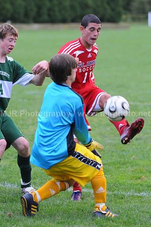 Soccer, Boys H.S. Varsity, St. John the Baptist vs Holy Trinity (09-16-08)