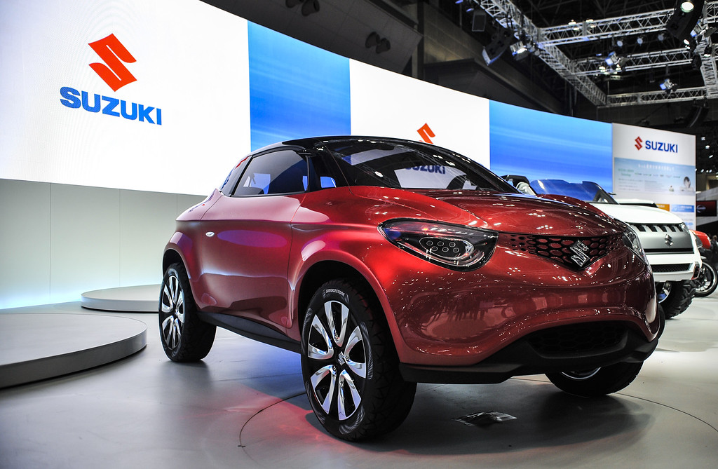 . Suzuki Motor Corp. Crosshiker concept vehicle is on display during the 43rd Tokyo Motor Show 2013 at Tokyo Big Sight on November 20, 2013 in Tokyo, Japan.   (Photo by Keith Tsuji/Getty Images)