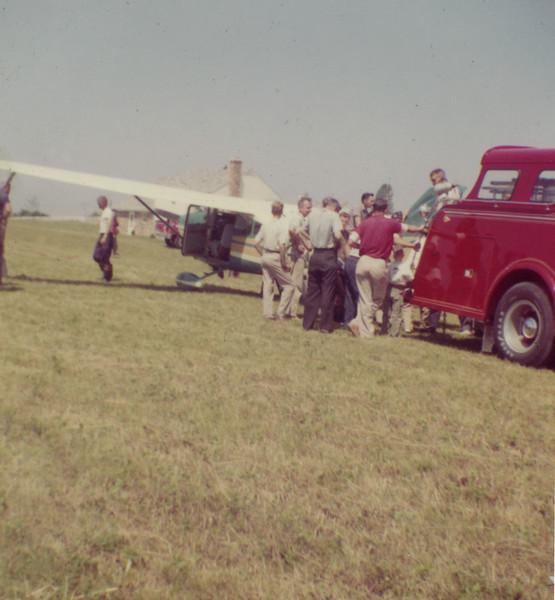 Airplane accident Travillah Road 1960