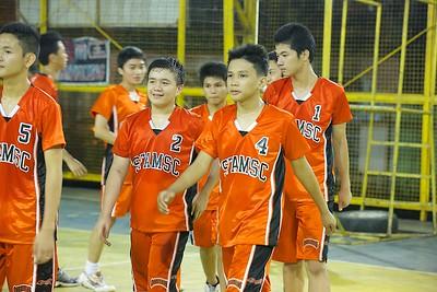 HS Boys' Volleyball 2012 SFAMSC vs GA