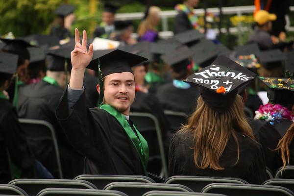 Avery Love's HSU Graduation day!
