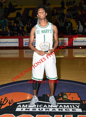 12-10-2016 - St Mary's (Phoenix) v Mater Dei (CA) - Hoophall West Invitational - Boys Basketball