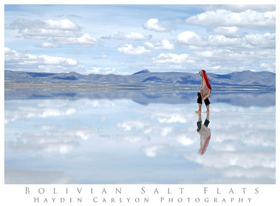 The Endless Skies of the Bolivian Salt Flats