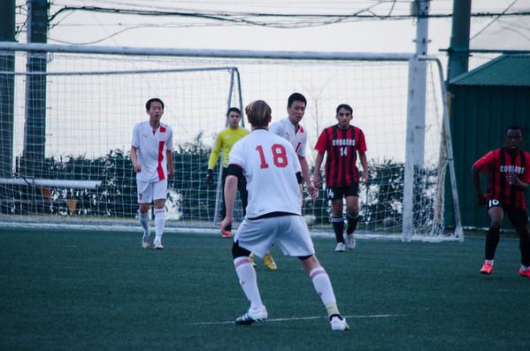 YIS Varsity Boys Soccer Against St. Maur