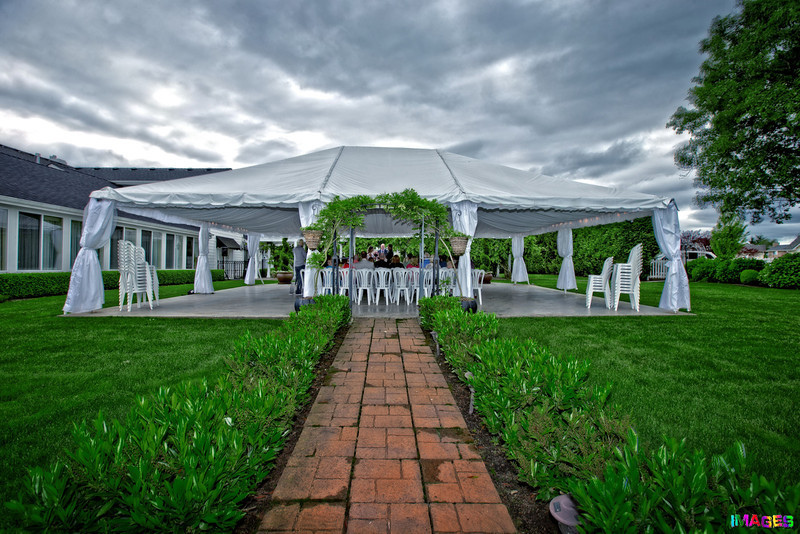 Wedding...HDR shot during a wedding. 3 separate exposures combined into one photo.