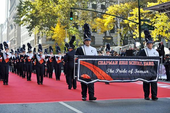 11.11.2016 Chapman High Band Veterans Day Parade