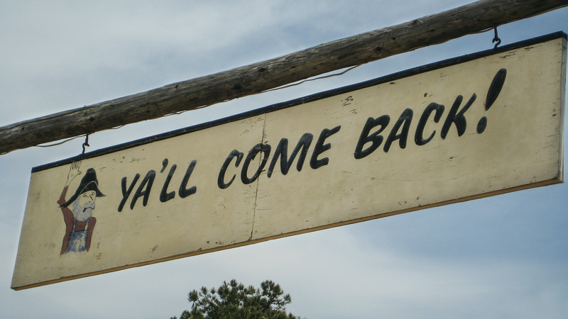 ya'll come back