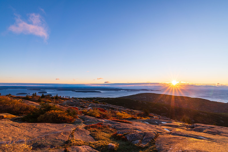 Sunrise at Cadillac Mountain