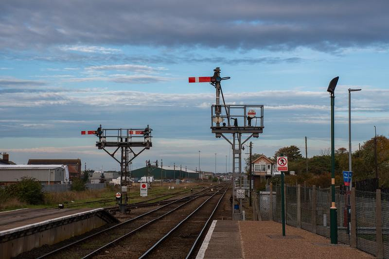 Semaphore Signalling, Lowestoft
