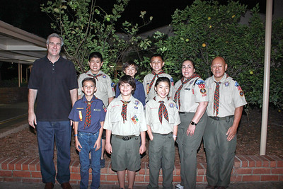 Carver Scouts Welcome New Cubs