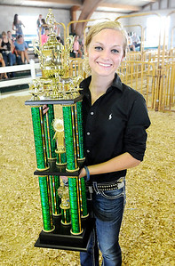 Supreme Showmanship at the 2017 Madison County 4-H Fair