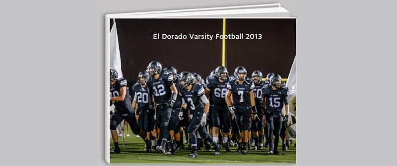 2013 El Dorado Varsity Football Photobook