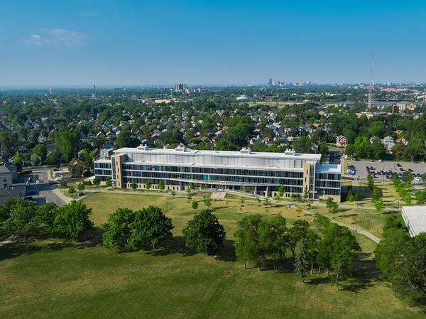 190242 Pharmacy, Aerials of Building, (Mark Adams) Pharmacy Building