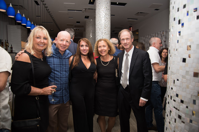 Eva Paprocki, Joseph Lee, Rosemary Macchia, Rina Kapicotto and Alan Greenberg unwinding at the Roof top party held by the Long Beach Chamber of Commerce at the Allegria Hotel.jpg