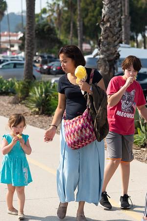 Santa Barbara: Downtown and end of trip
