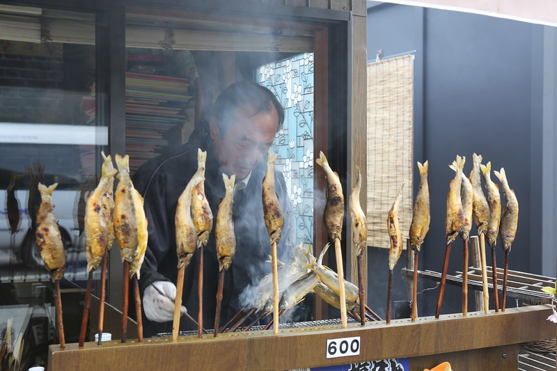 Traditional Fish on a stick....