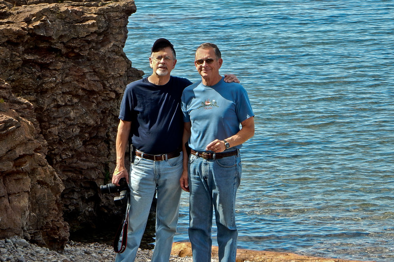 John and Ron | Lake Superior