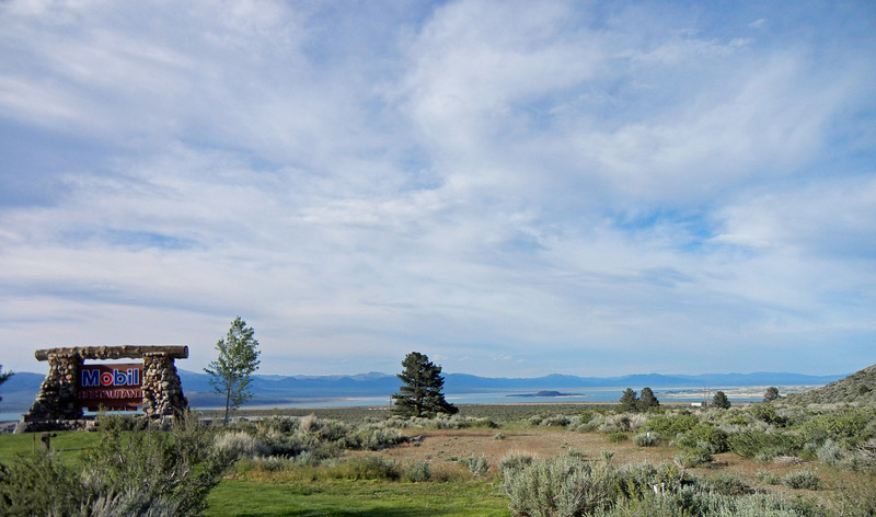 Whoa Nellie Deli, Mono Lake, Lee Vining, California Mono Lake is in background June, 2011