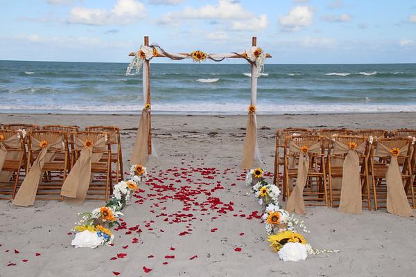 Melissa and Nicholas's Beach Wedding!
