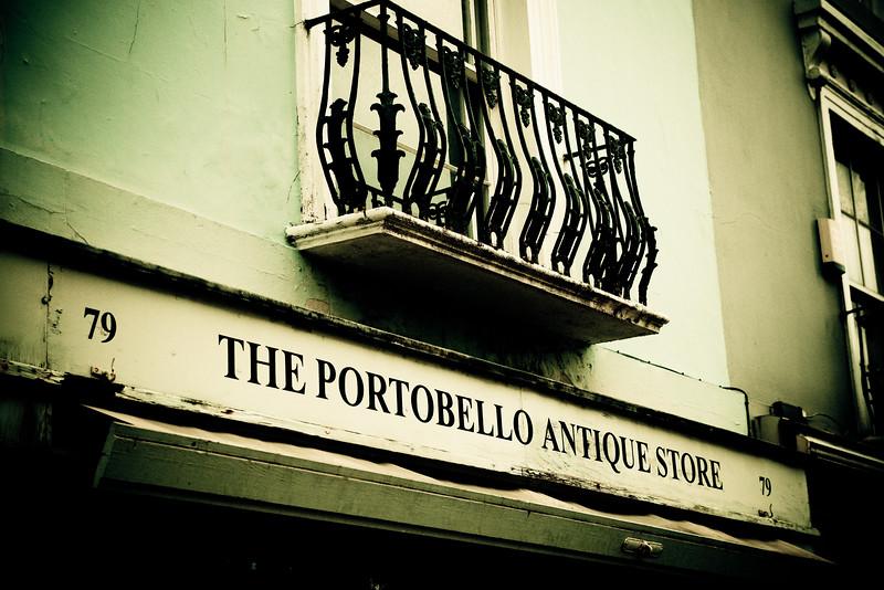 Portobello Market, Notting Hill