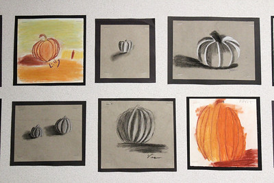 LS Art Pumpkin Drawings 11-25-19
