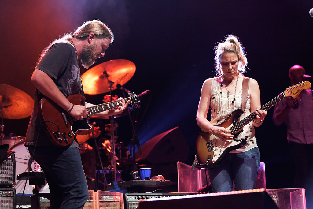 . Derek Trucks and Susan Tedeschi perform at Freedom Hill Amphitheatre on Tuesday, June 17. 