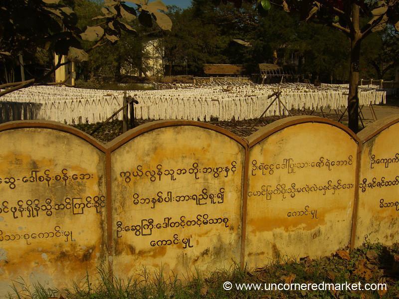 Hanging Ropes - Mandalay, Burma
