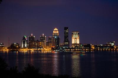 Louisville KY, Skyline