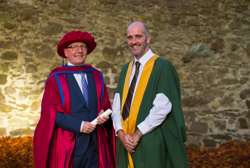 03/11/2016. Waterford Institute of Technology (WIT) Conferring Ceremonies November 2016:  Pictured is Maurice Weir who was conferred a PhD. Picture: Patrick Browne