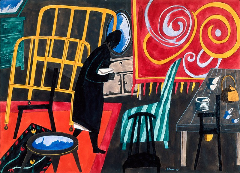 "Jacob Lawrence, ""The Apartment"" (1943)"