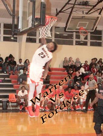 Warren vs Fordyce Basketball