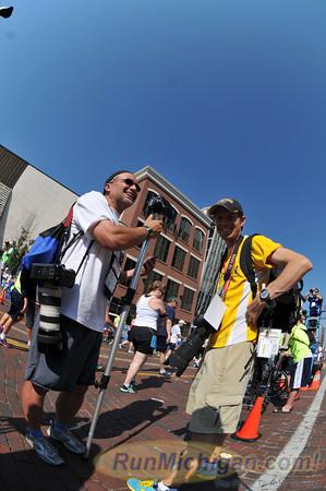 10 Mile Post-Race (Finish Area) - 2012 Crim