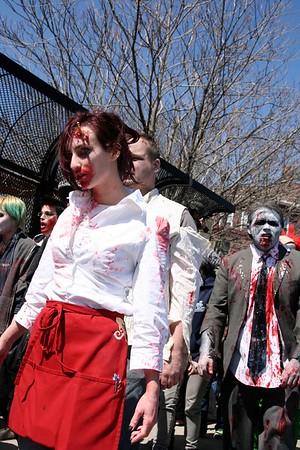 Easter 2009 Zombie Shamble