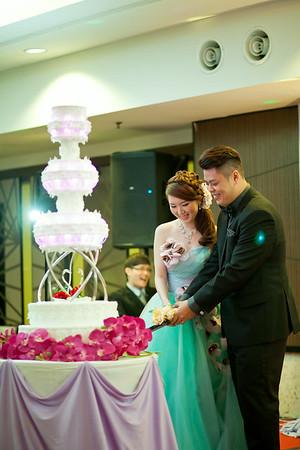 Ben Leong + Tiffany Wedding Reception