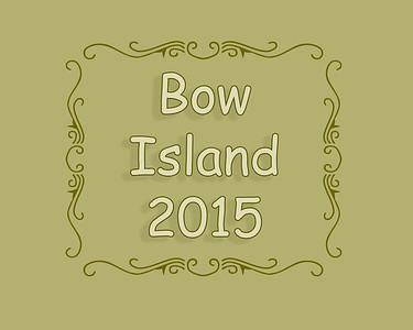 Bow Island Rodeo 2015