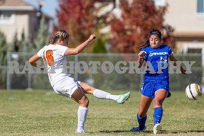 Lady Tigers vs Carson 10-10