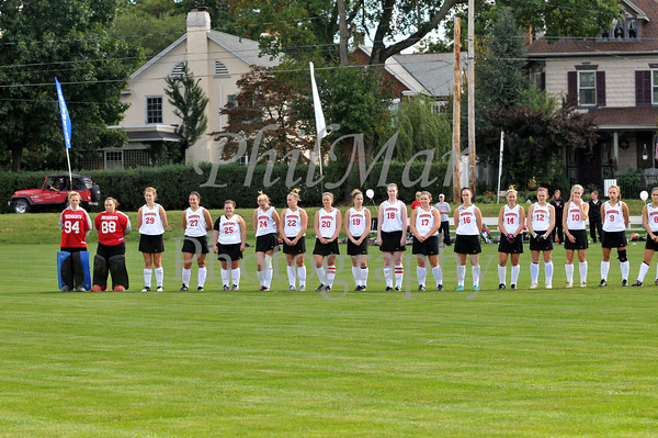 Washington & Jefferson vs Wilson College Field Hockey 2012