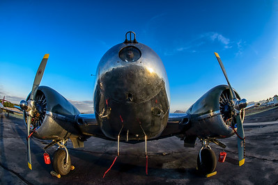 Photographs of Static Vintage Warbird Aircraft at Falcon Field