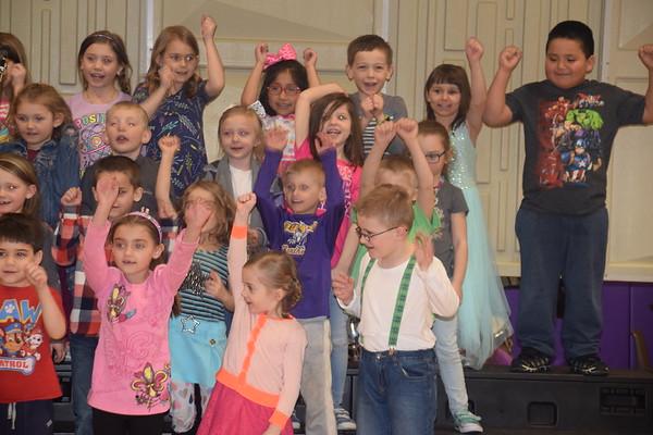 Caddie Woodlawn Elementary Fine Arts Day Concert, Mar. 15th, 2019