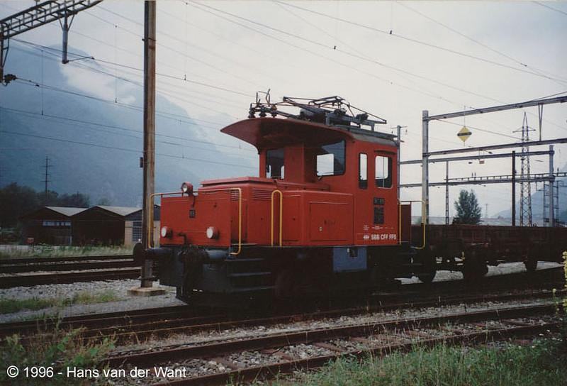SBB - Castione Arbedo - 21-08-1996