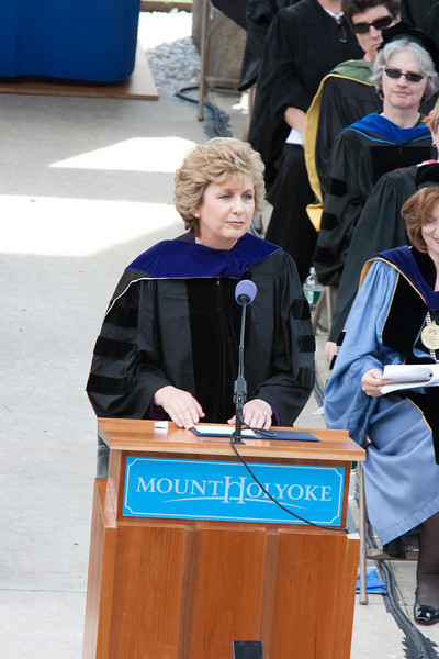 Commencement address by Mary McAleese.