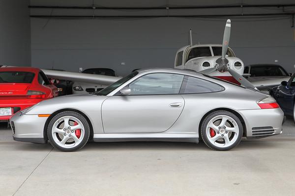 2002 Porsche 911 C4S Silver