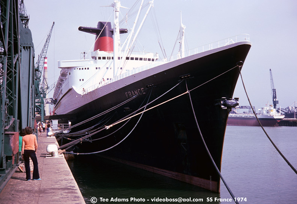 SS FRANCE 1974